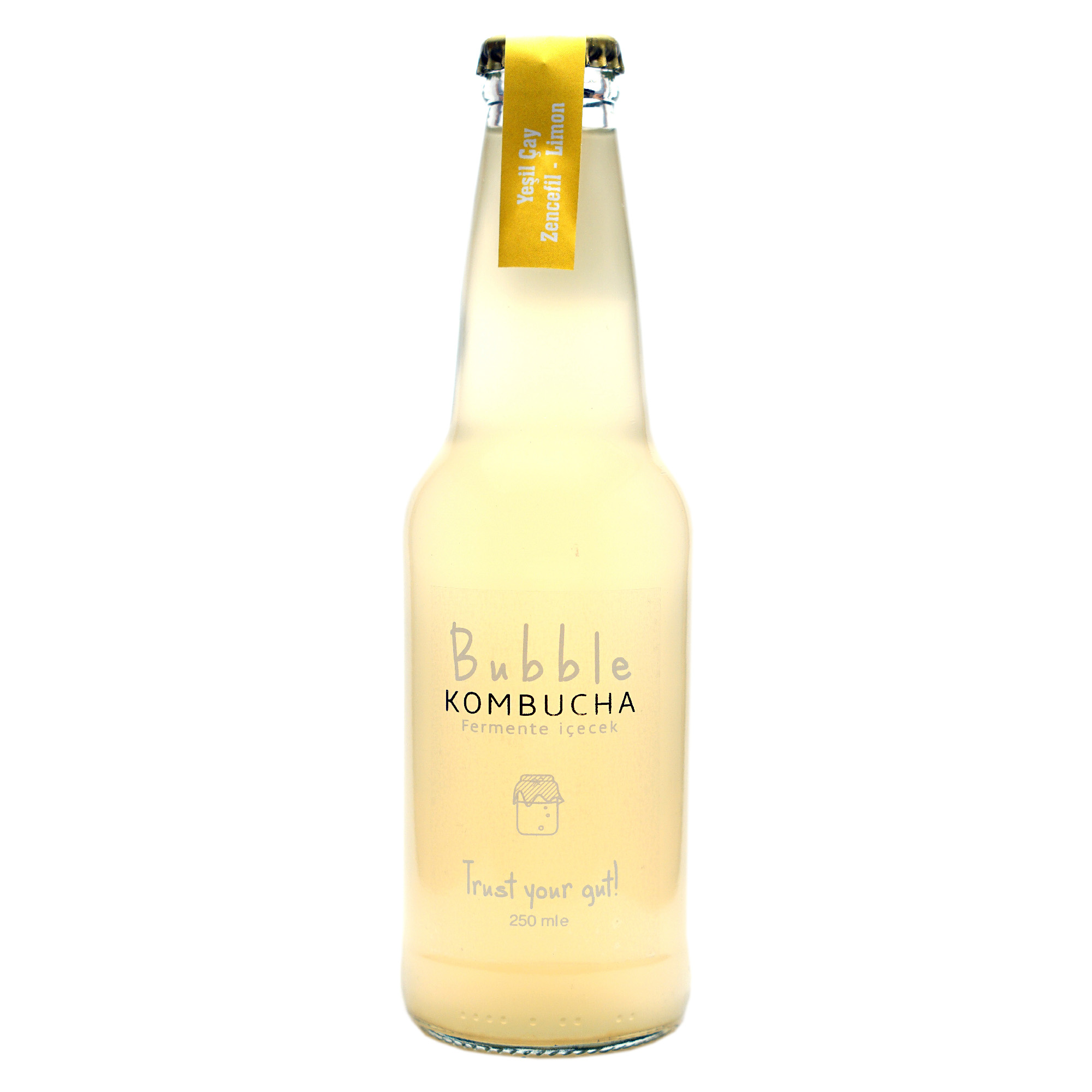 BUBBLE KOMBUCHA NANE & LIME & LİMON 250 ML